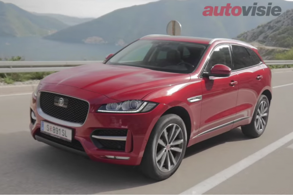 Autovisie: Jaguar F-Pace